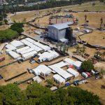 אוהלים להופעה של מדונה