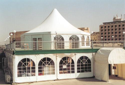 אוהל עגול